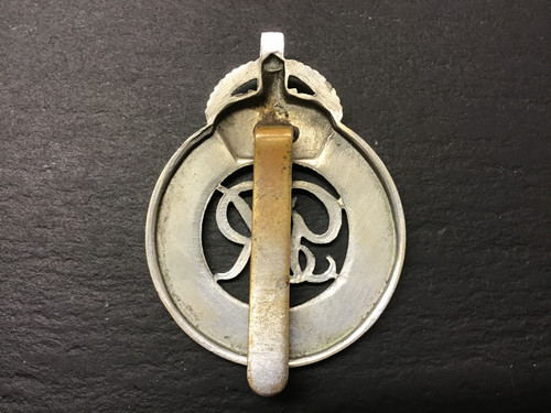 GD 905 War Department Constabulary Cap Badge. Kings Crown.