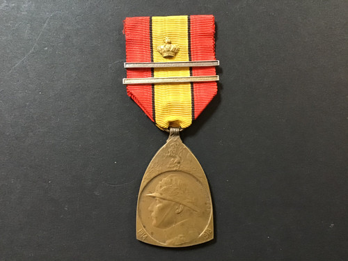 GD 906 BELGIAN 1914 - 18 COMMEMORATIVE MEDAL.