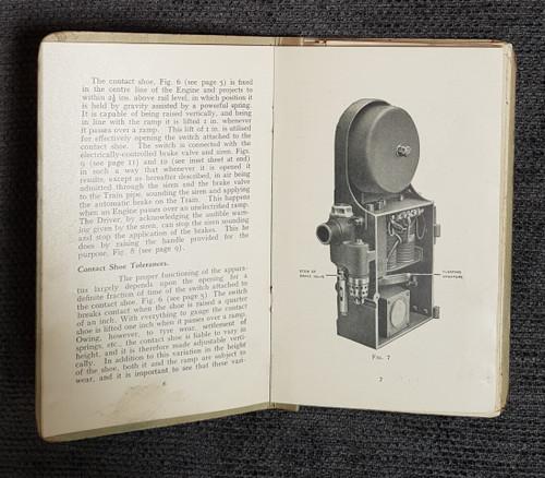"VT 2704. G.W.R. "" AUTOMATIC TRAIN CONTROL"" DESCRIPTION AND NOTES."