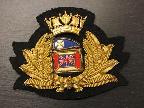 GD 892 MERCHANT NAVY OFFICER CAP BADGE GLEN LINE.