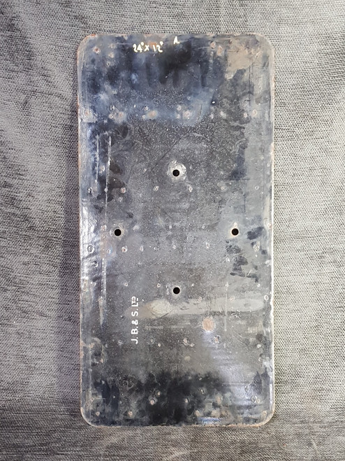 VT 2200. ENAMEL INTERMEDIATE SIGNAL IDENTIFICATION PLATE