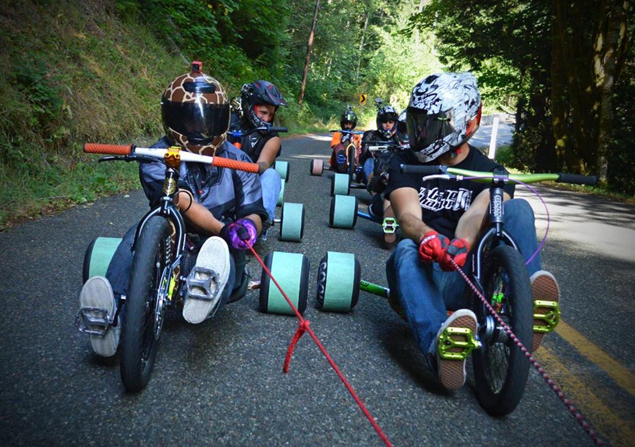Drift Trike Kits Drift Trike Parts Precision Drift Trikes Flatout Drift Trikes