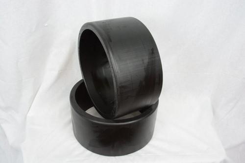 "HDPE Sleeves | 10"" BLACK GAS TRIKE"