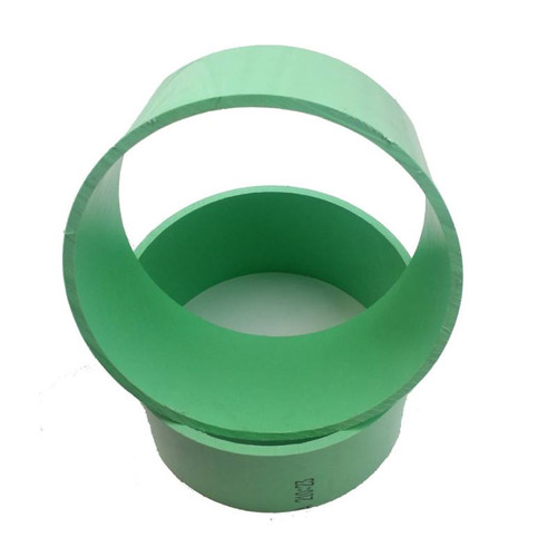"10"" PVC (GREEN) Replacement Sleeves - SET OF 2 (FREE Sticker)"