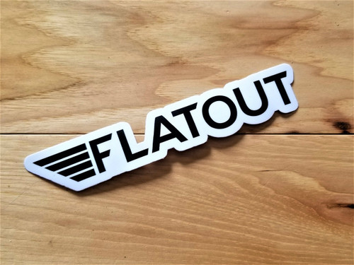flatout drift trikes sticker