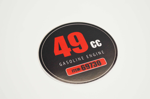 49cc | Sticker