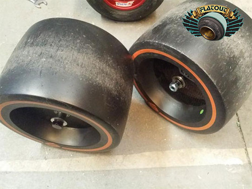 USED HUFFY Pro Slider |  2 Plastic Wheel Set