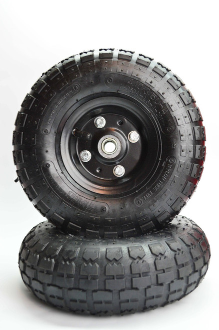 "Basic 10"" Diameter Wheel & Tire 