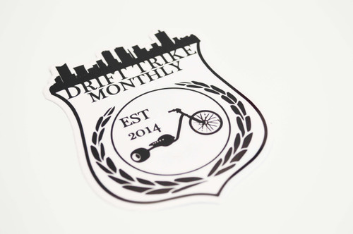 Drift Trike Monthly | Sticker
