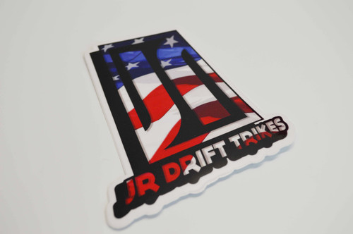 JR Drift Trikes   Sticker (50% Savings!)