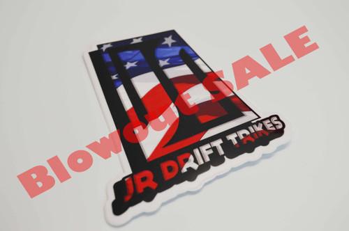 JR Drift Trikes | Sticker (50% Savings!)