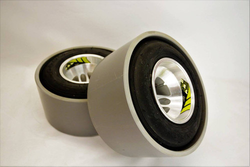 15mm Kart wheels  (Set of 2) NO pvc
