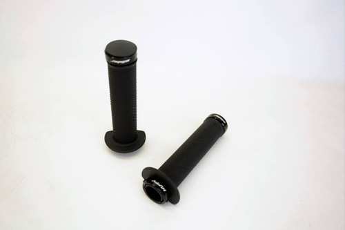 LOCK-ON GRIPS 7/8s (BLACK)