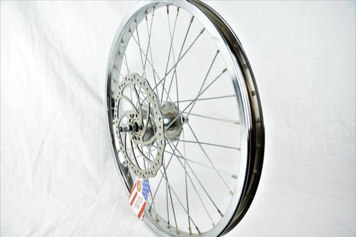 3/8s drop out front wheel peg disc brake mount