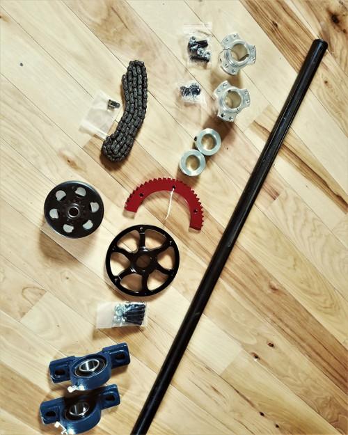 gas axle kit drift trike