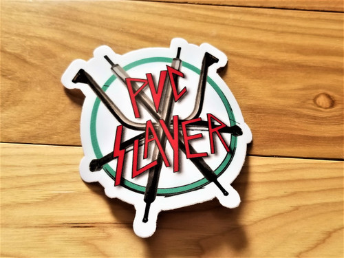 pvc slayer sticker