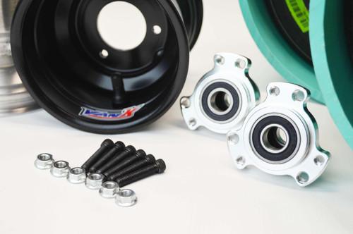 """Kart Wheels Package   5/8""""   Tires   PVC   Hubs"""