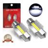 31MM Festoon LED Dome Trunk Map License Plate Light Bulb DE3175 DE3022