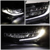 2016-2018 HONDA CIVIC TYPE-R STYLE LED DRL+SEQUENTIAL SIGNAL HEADLIGHT/LAMPS