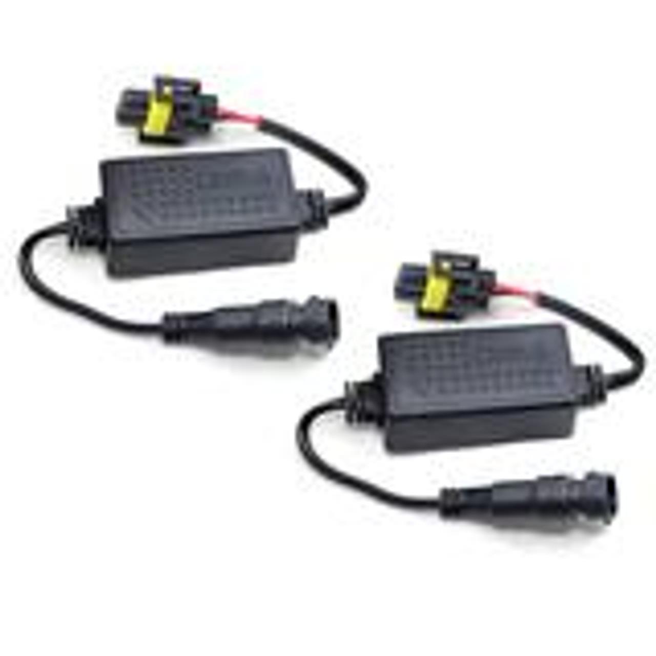 9007 Led Headlight Decoder Canbus Resistor Anti-Flicker Harness LED Bulbs Decoder
