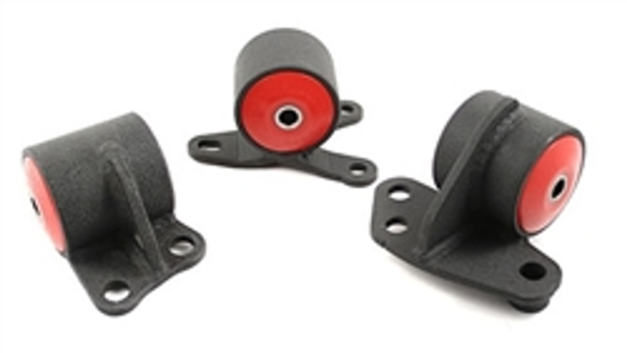 Innovative Steel Motor Mount Kit 92-95 Civic / 94-01 Integra 2 Post (60A Red)