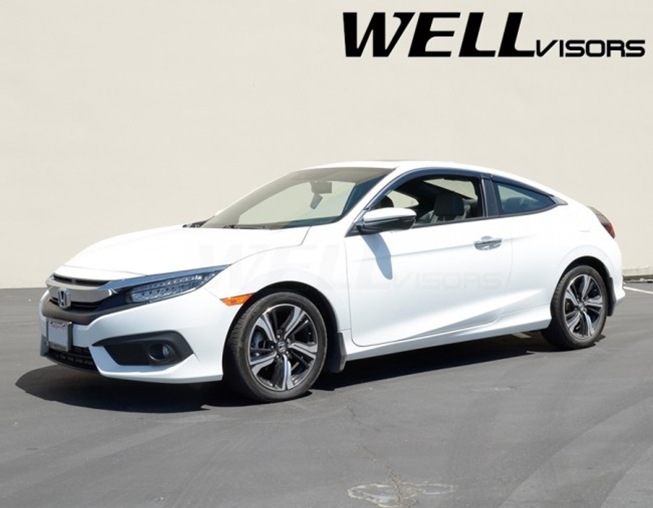 Honda Civic Coupe 2016+ with Chrome Trim