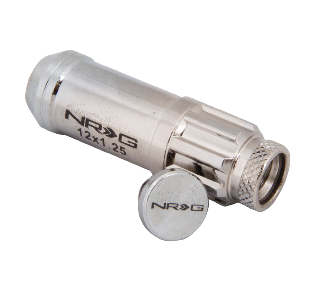 NRG Lug Nut Set 12 x 1.25 (Open End / Chrome)