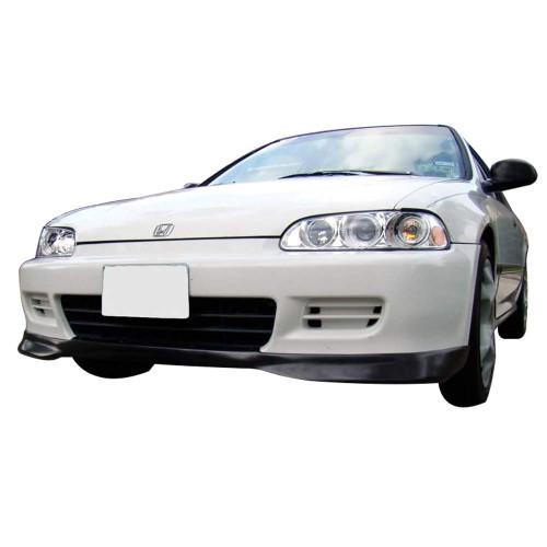 92-95 Honda Civic EG 2Dr Coupe 3Dr HB Type R Style Front Bumper Lip