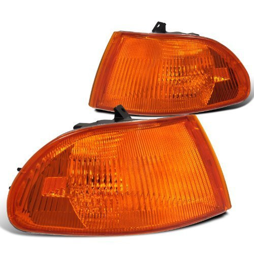 Honda Civic Dx Ex Lx 4Dr Signal Corner Lights Amber