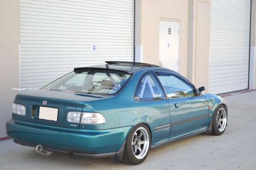 Rear Visor - Civic 92-95 2dr