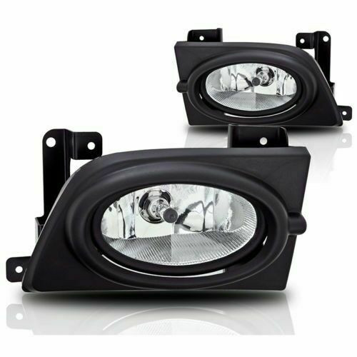 06-08 Civic Fog Lights 4DR (CLEAR)