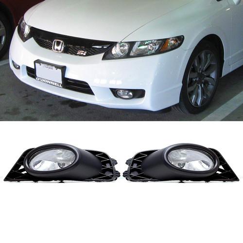 09-2011 Civic Fog Lights 4DR (CLEAR)