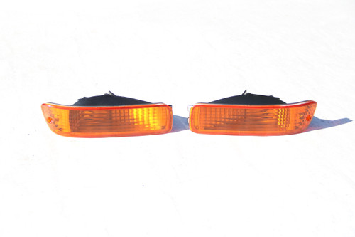 92-93 Integra Bumper Lights Amber
