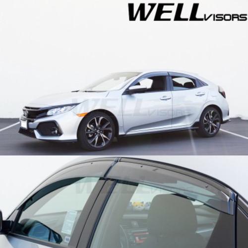 Honda Civic 5 Door Hatchback 2017+ with Black Trim