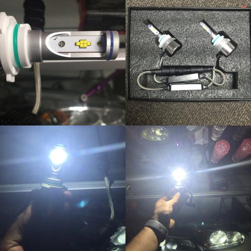 LS Series Auto LED Headlight Kits 90W 10000LM 6000K