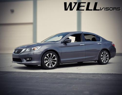 Honda Accord Sedan 13-17 With Chrome Trim