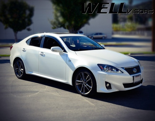 Lexus IS250 IS350 ISF 06-13 With Chrome Trim