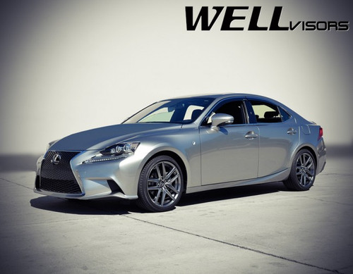 Lexus IS250 IS200t 14-18 with Chrome Trim