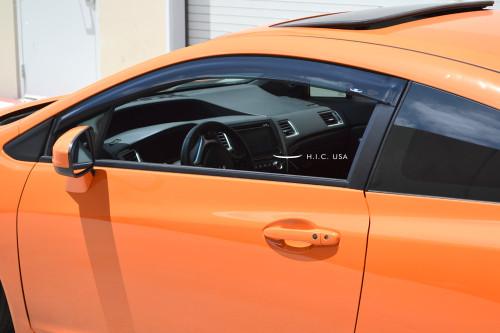 12-15 Civic 2Dr- Side Visors