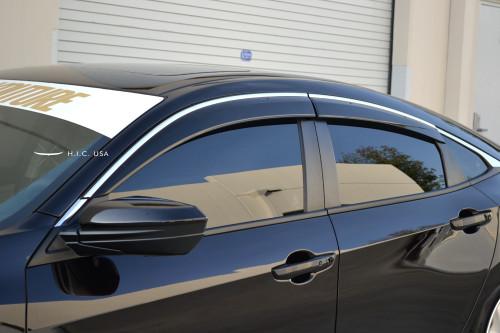 Side Visor - Civic 16-18 4dr