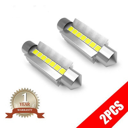 42MM 211-2 212-2 LED Interior Bulbs for Dome/Map/Trunk /License Plate/Cargo/Vanity Lights