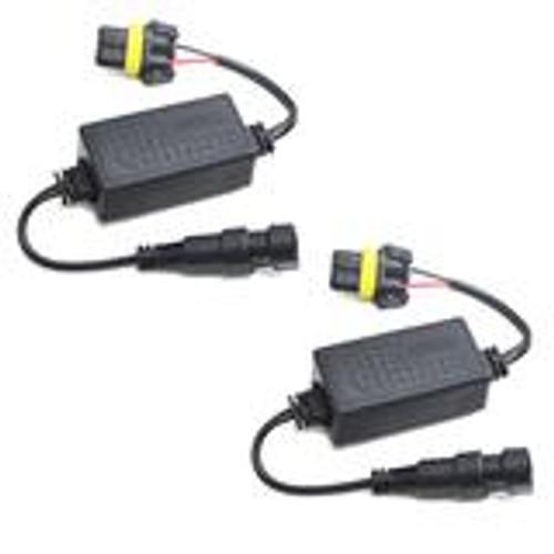 LED Headlight Canbus Error Free Load Resistor Decoder Anti Flicker