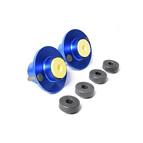 Civic/Del Sol/CRX/CRV/Integra 2pcs Suspension Coilover Shock Top Hat Mount Kit (Blue)