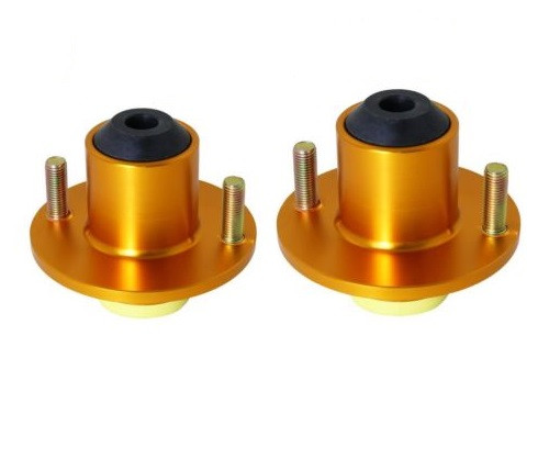 Civic/Del Sol/CRX/CRV/Integra 2pcs Suspension Coilover Shock Top Hat Mount Kit (Gold)