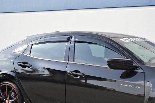 Side Visor - Civic 17-19 Hatchback