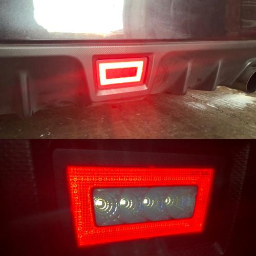11-19 WRX / STI Rear Bumper Brake Lamp Smoked Lens