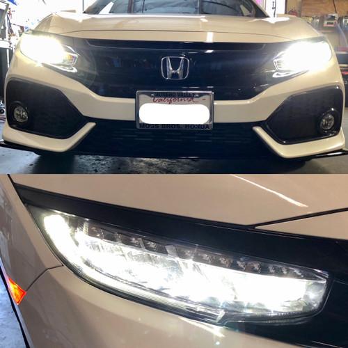 DEPO 2016-2018 Honda Civic Type-R Style LED DRL+LED Signal Headlight/Lamps