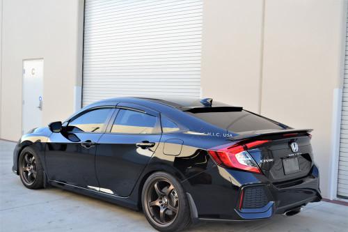 16-19 Civic 4Dr Mugen Style- Side Visors