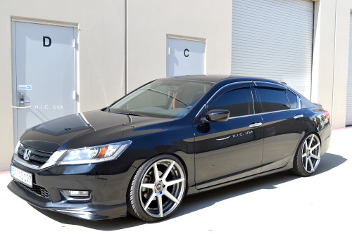 13-17 Accord 4dr OE Style - Side Visors With Clips