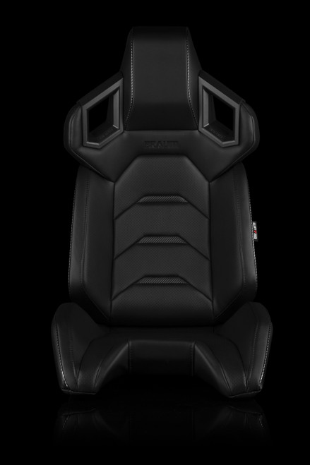 Braum Alpha-X Series Seats Black-Carbon Fiber(Pair)